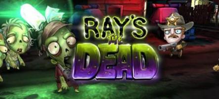 Ray's the Dead, un jeu d'action mignon, avec zombies