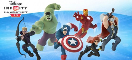 Disney Infinity 2.0 : Marvel Super Heroes sort aujourd'hui