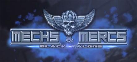 Mechs & Mercs: Black Talons, tactique en temps réel