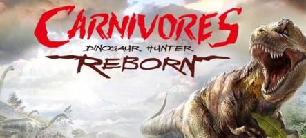 Carnivores: Dinosaur Hunter Reborn vous propose de tuer des dinosaures