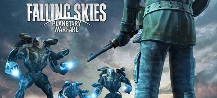 Falling Skies : un jeu de rôle tactique tiré de la série TV