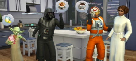 Les Sims 4 : un DLC Star Wars  et fantômes gratuit !