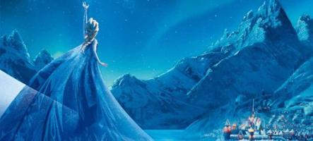 La Reine des Neiges version 8bits : le jeu vidéo de l'année ?