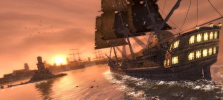 Raven's Cry reste au port