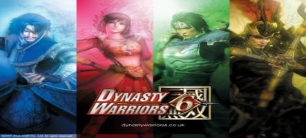 Un nouveau DLC gratuit pour Dynasty Warrior 6