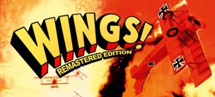 Wings! Remastered Edition, un remake d'un classique des années 90