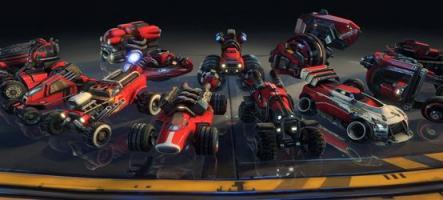 BlazeRush, un jeu de courses explosif sur PC et PS3