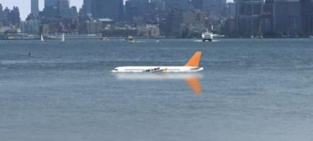 4,6 millions d'avions dans l'Hudson