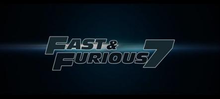 Fast & Furious 7 : la bande-annonce !