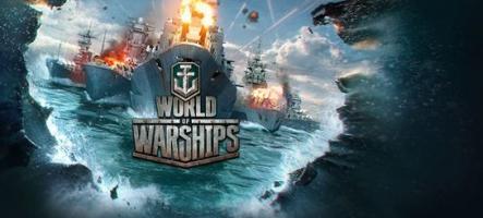 World of Warships : carnet de développeurs