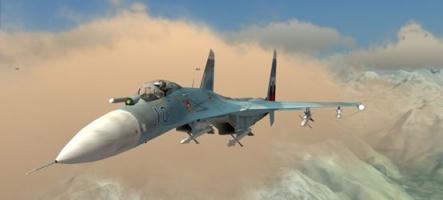 DCS Su-27 : Combats d'avions de chasse