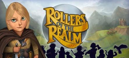 Rollers of the Realm, un mélange de jeu d'aventure et de... flipper