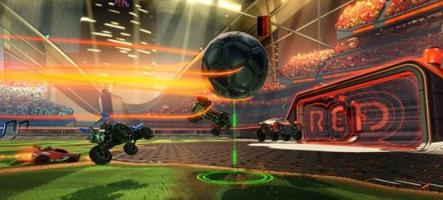 Rocket League : du foot et des voitures