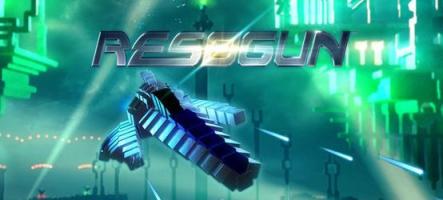 Resogun sort sur PS3 et PS Vita