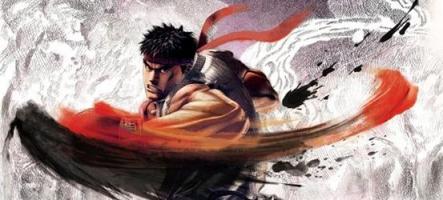 Street Fighter 5 : Chun-Li combat avec un bol de nouilles sur la tête