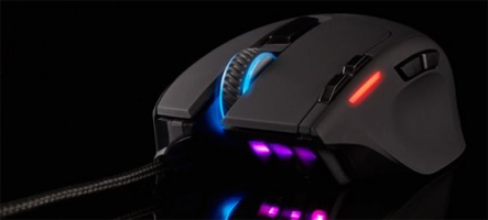 Test de la souris Corsair Gaming Sabre Laser RGB