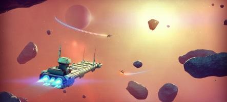 Grosse vidéo de gameplay pour No Man's Sky