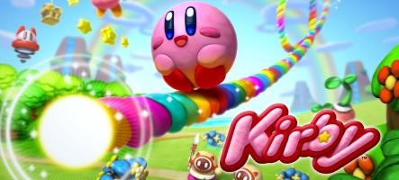 Kirby et le Pinceau Arc-en-Ciel s'exhibe