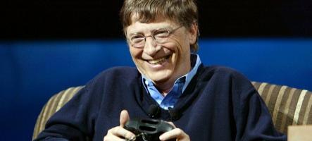 Bill Gates boit de la merde