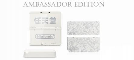 Nintendo New 3DS Ambassor Edition : le déballage de la console