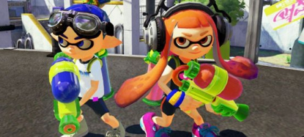 Splatoon sort en mai sur Wii U