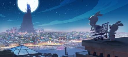 Les Lapins crétins fêtent les 40 ans du premier pas sur la lune