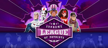 Supreme League of Patriots : L'Amérique a un incroyable Supertalent