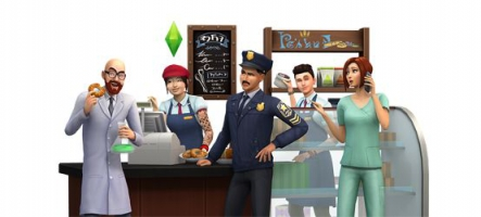 Les Sims 4 se mettent au boulot