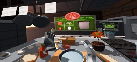 Job Simulator, le premier jeu du casque à réalité virtuelle HTC Vive