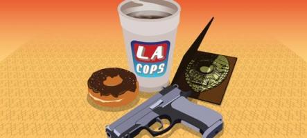 LA Cops : Un jeu cliché des flics américains des années 70