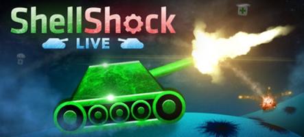 ShellShock Live, un jeu à la Worms, mais avec des tanks
