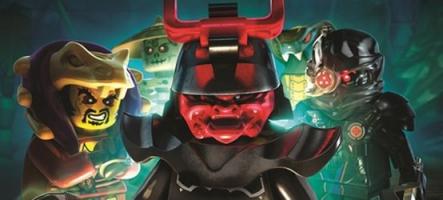 LEGO Ninjago : L'Ombre de Ronin sort sur 3DS et PS Vita