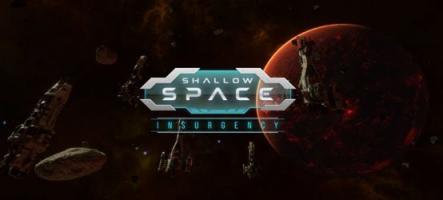 Shallow Space: Insurgency, un jeu de stratégie dans l'espace