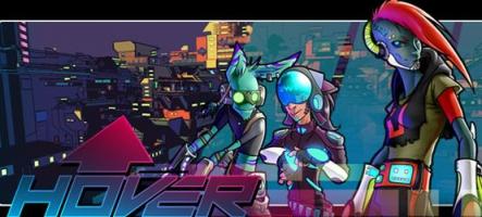 Hover : Revolt of Gamers, un monde ouvert à l'ambiance futuriste