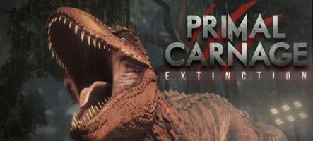 Primal Carnage: Extinction, les humains contre les dinosaures