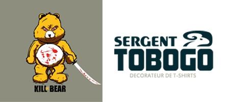 Concours : Gagnez 5 t-shirts Sergent Tobogo