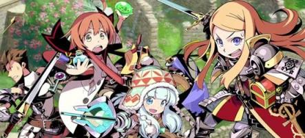 Deux jeux de la saga Etrian prévus sur Nintendo 3DS