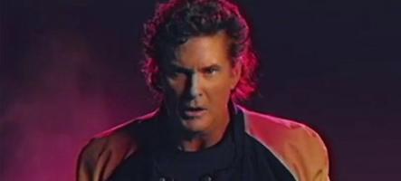 David Hasselhoff revient avec une chanson et un clip hommage aux jeux vidéo