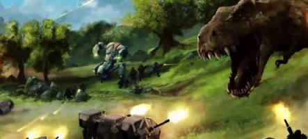 ORION: Prelude, un shoot avec des dinosaures