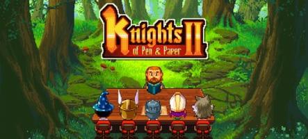 Knights of Pen & Paper 2 : un jeu de rôle papier pour le 14 mai