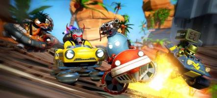 Space Dust Racers : Un Mario Kart avec des aliens ?