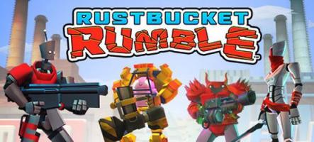 Rustbucket Rumble : combats de robots dans des arènes