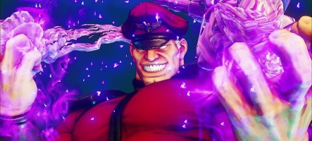 Capcom met M. Bison à l'honneur de Street Fighter V