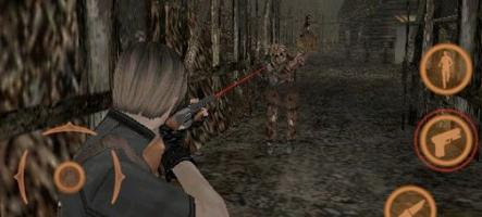 Resident Evil 4 débarque sur iPhone