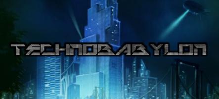 Technobabylon : Un jeu d'aventure Cyberpunk