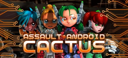 Assault Android Cactus, un shoot sur PC, PS4, Wii U et PS Vita