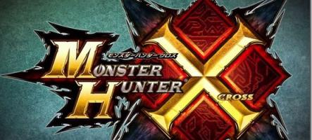 Monster Hunter X annoncé pour la fin d'année