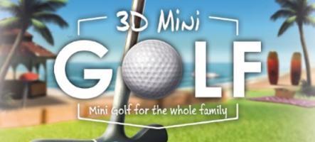 3D Mini Golf : on se fait des petits trous ?