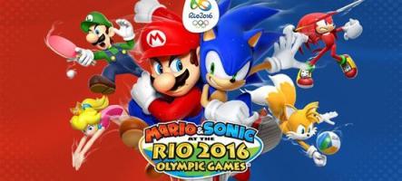 Mario & Sonic aux Jeux Olympiques de Rio 2016 sur 3DS et Wii U