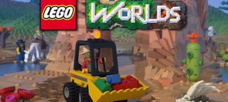 LEGO Worlds : Un MineCraft avec des petits bonshommes jaunes ?